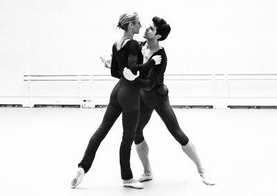 Zenaida Yanowsky & Roberto Bolle – Ensayo
