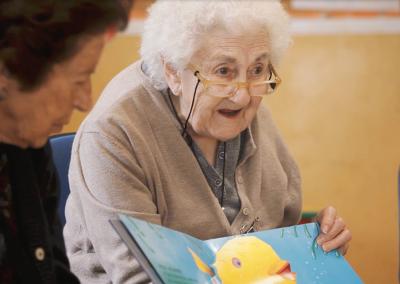 Aldeas Infantiles – Encuentro con ancianos